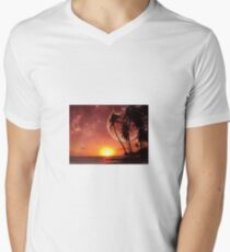 sci fi Men's V-Neck T-Shirt