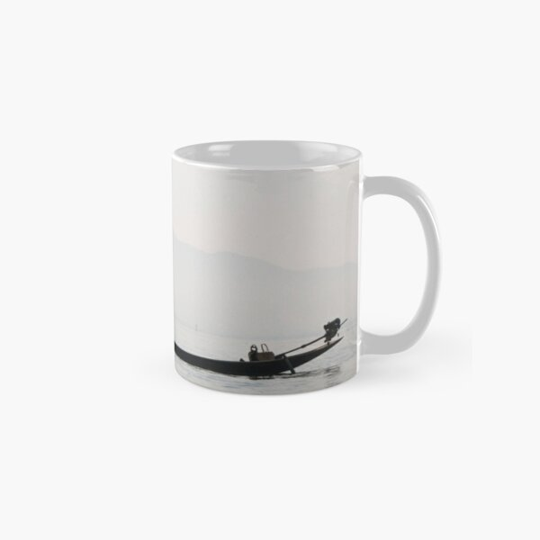 The fisher at Inle Lake Classic Mug