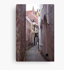 Narrow Street/Pass - Travel Photography Canvas Print