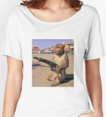 Army Monkey Women's Relaxed Fit T-Shirt