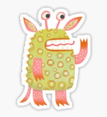 Monster Rufus Sticker