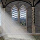 God Rays Through An Arched Window by Paul Fleet