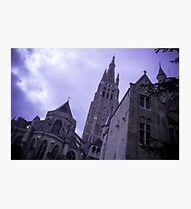 Mysterious Church - Travel Photography Photographic Print