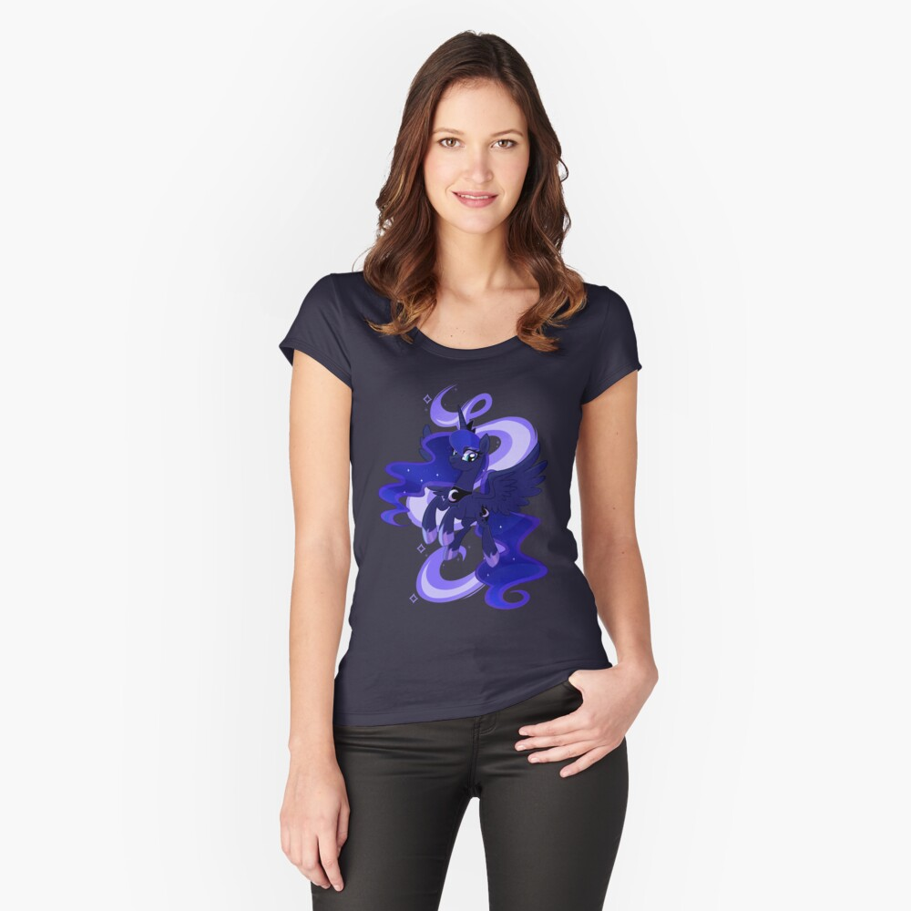 My little woona Women's Fitted Scoop T-Shirt Front