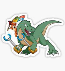NinjaCat Rex Sticker
