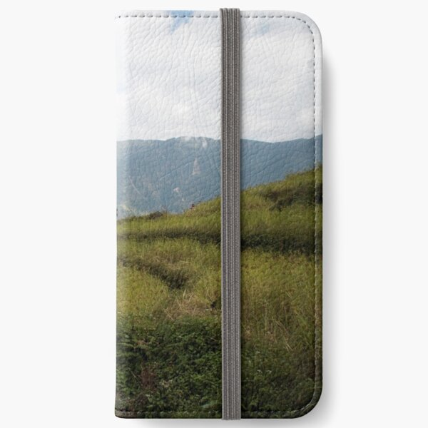 Millet terraces in Gorkha district iPhone Wallet