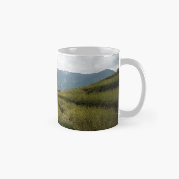 Millet terraces in Gorkha district Classic Mug