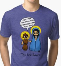 The First Rosary Tri-blend T-Shirt
