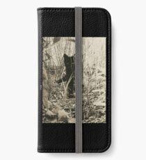 Kitty in Wonderland iPhone Wallet/Case/Skin