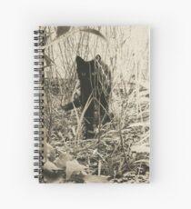 Kitty in Wonderland Spiral Notebook