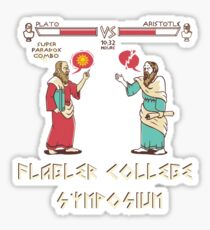 Flagler College Symposium Sticker