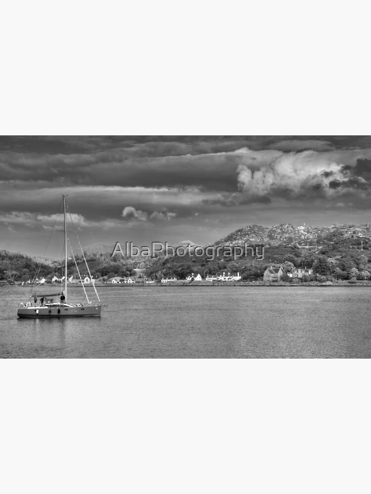 Lochinver Harbour, Sutherland, Scotland. by AlbaPhotography