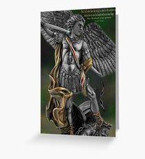 Ƹ̴Ӂ̴Ʒ Archangel Angel Michael (biblical) Ƹ̴Ӂ̴Ʒ Greeting Card