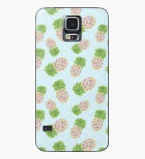 Painted Pineapple  Case/Skin for Samsung Galaxy