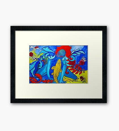 My Fish Framed Print