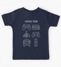 Camiseta para niños Control Freak Video Game Controller T Shirt