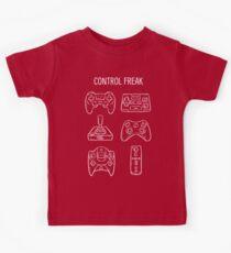 Control Freak Video Game Controller T Shirt Kids Tee