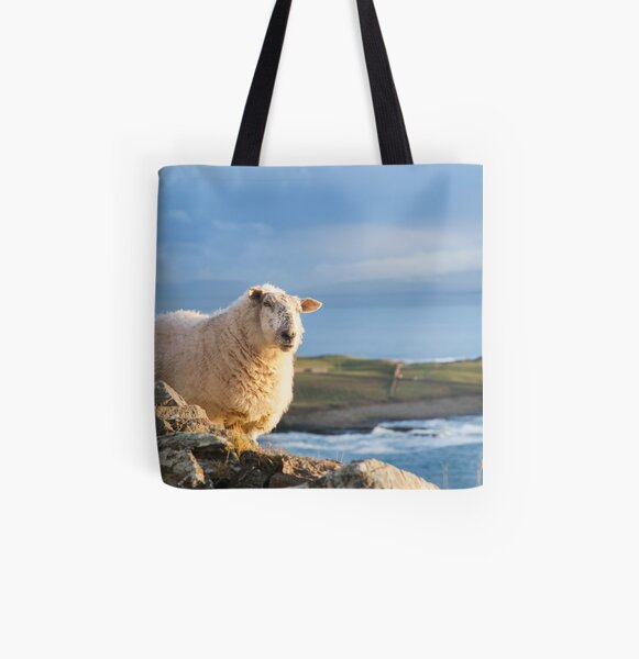 Donegal Sheep All Over Print Tote Bag