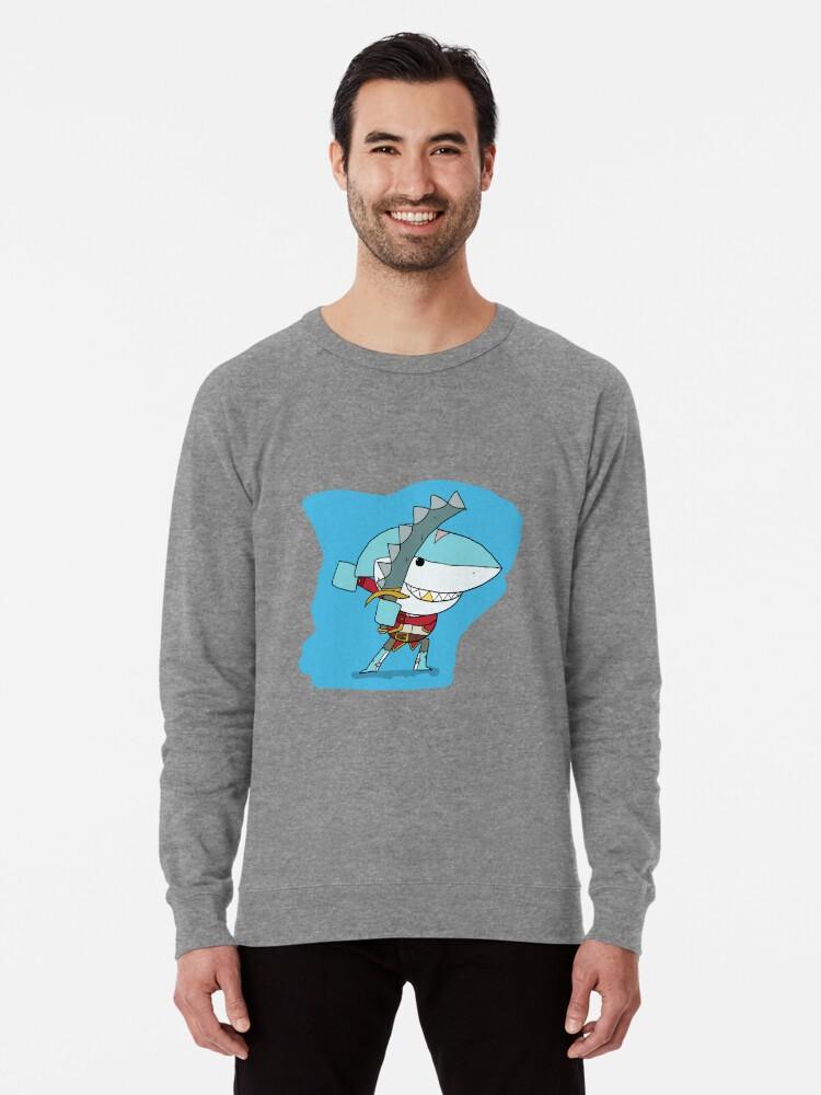 'Brawlhalla - Shark Attack Thatch' Lightweight Sweatshirt by Clunse