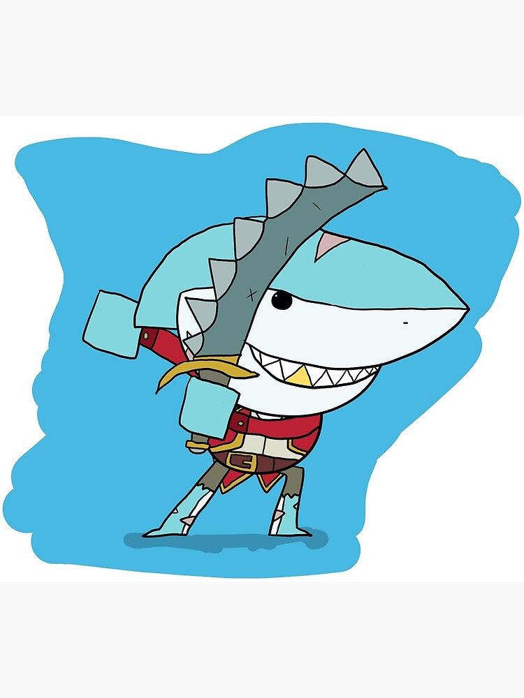 Brawlhalla - Shark Attack Thatch   Metal Print