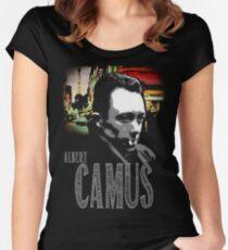 Albert Camus T-Shirt Women's Fitted Scoop T-Shirt