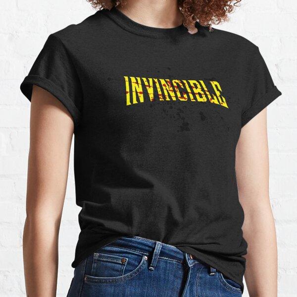 Invincible blood splashes logo Classic T-Shirt