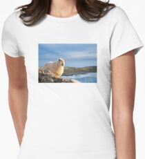 Donegal Sheep Women's Fitted T-Shirt