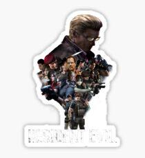 Resident Evil! Sticker