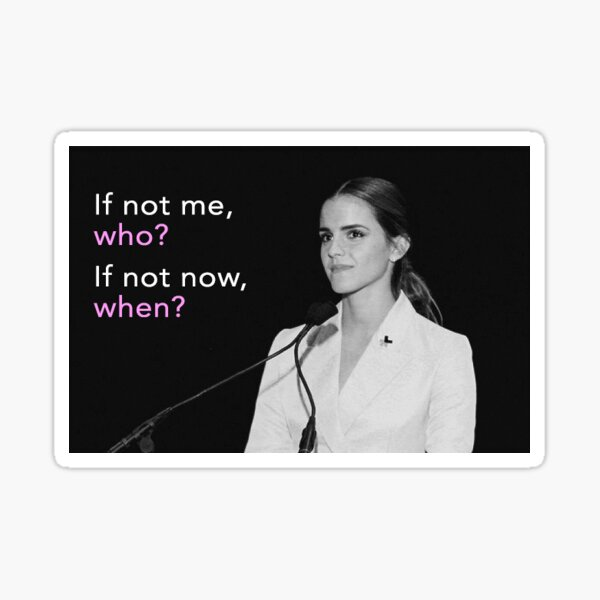 Emma Watson Il Pour Elle Sticker