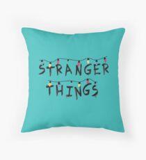 Stranger Things Fairy Lights Throw Pillow