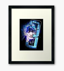 Dr Who The Third Doctor Jon Pertwee T-Shirt Framed Print