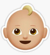 Emoji Baby (Blonde) Sticker