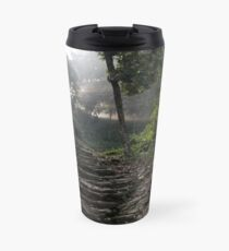 Stairs to the mountain  Travel Mug