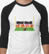 Man Cave Football Men's Baseball ¾ T-Shirt