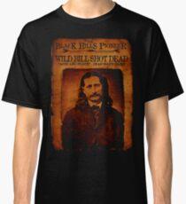 Wild Bill Hickok Deadwood Design Classic T-Shirt