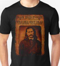 Wild Bill Hickok Deadwood Design T-Shirt