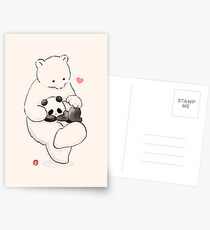 Panda Therapy Postcards
