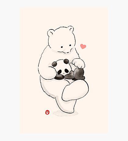 Panda Therapy Photographic Print