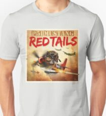 "WINGS Series ""P-51 RED TAILS"" T-Shirt"