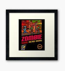 Zombie Head Hunt Framed Print