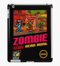 Zombie Head Hunt iPad Case/Skin