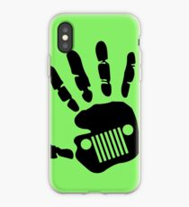 Jeep Wrangler JK Hand Wave iPhone Case