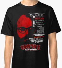 Allen Ginsberg Howl - Beat Poem Author T-shirt Classic T-Shirt