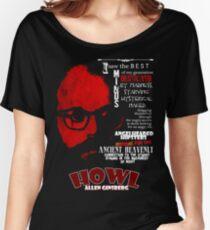 Allen Ginsberg Howl - Beat Poem Author T-shirt Women's Relaxed Fit T-Shirt