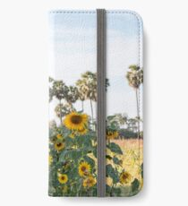 Sunflowers and Palm iPhone Wallet/Case/Skin