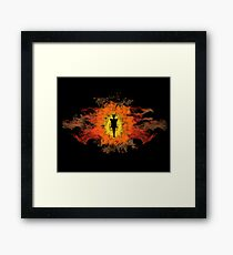 The Dark Lord of Mordor Framed Print