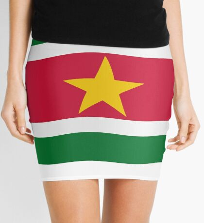 Suriname flag Mini Skirt