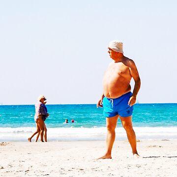 Beach Man Streetwear by HumbleMister