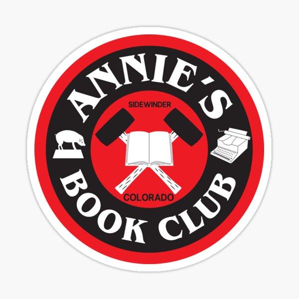 Annie's Book Club Sticker