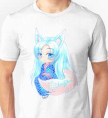 Kitsune Yokai Chibi (Yuki/Snow theme) T-Shirt